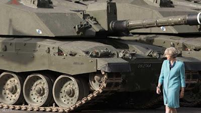"""صدمة في بريطانيا بسبب """"دبابات خردة"""""""