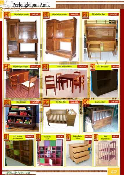 furniture anak kayu jati klender