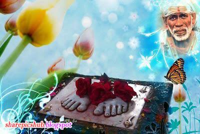 Alone Girl Wallpaper For Shayari Lord Sai Baba Charan Image For Sharing Sai Baba Of