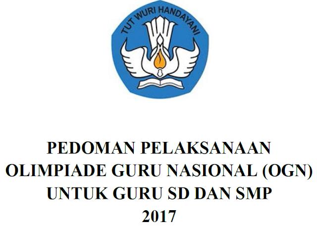 Pedoman Olimpiade Guru Nasional Tahun 2017