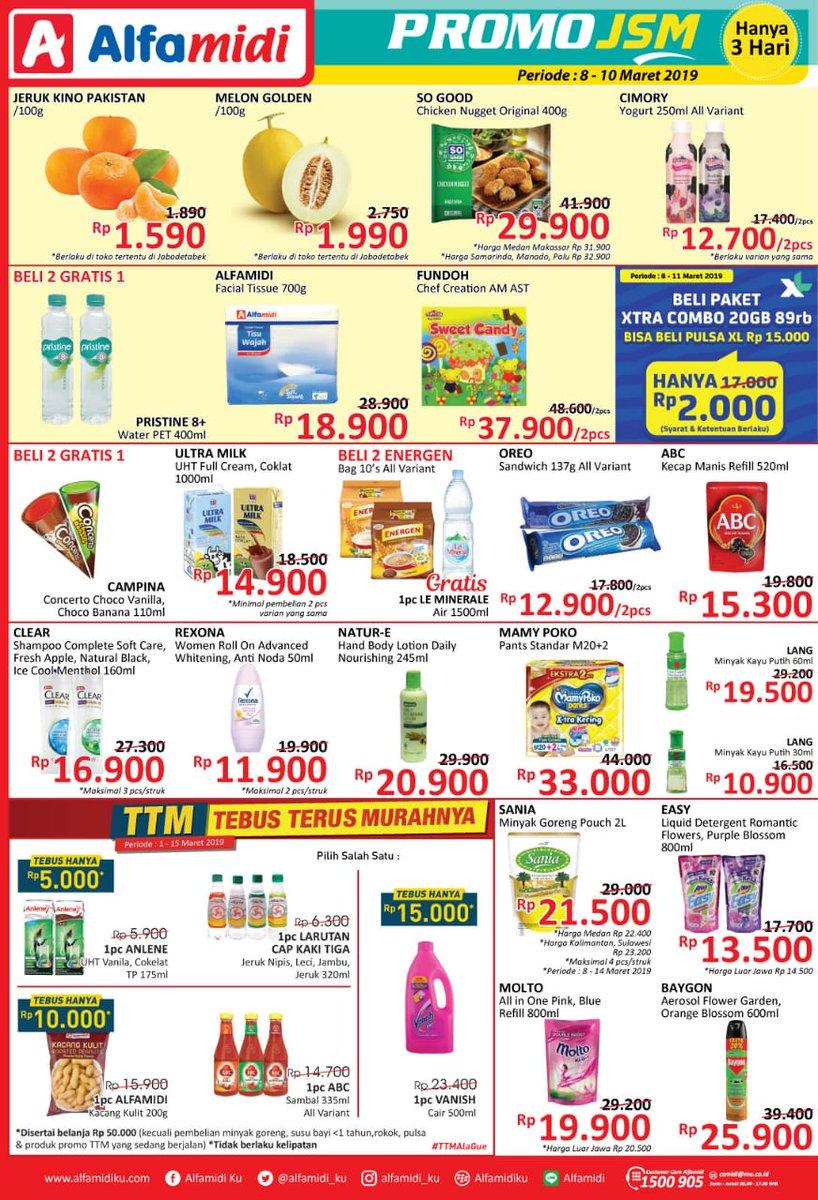 #Alfamidi - #Promo #Katalog JSM Periode 08 - 10 Maret 2019