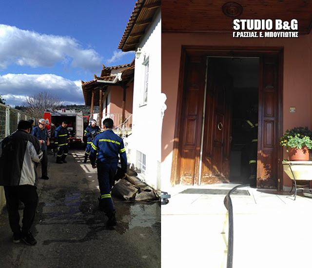 Πυρκαγιά σε σπίτι στο Κουτσοπόδι