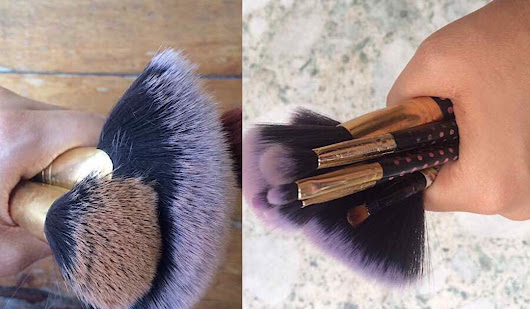 HOW TO CLEAN YOUR MAKEUP BRUSHES AND SPONGES WITHOUT A BRUSH CLEANER