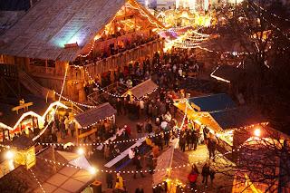 hyde park, bavaria, christmas, winter wonderland