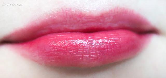 Тинт Benetint Benefit - Rose-Tinted Lip And Cheek Stain отзыв обзор свотчи на губах