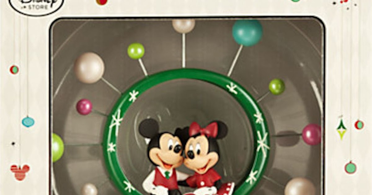 Christmas Every Day: Mickey Mouse Tree Topper Disney Store
