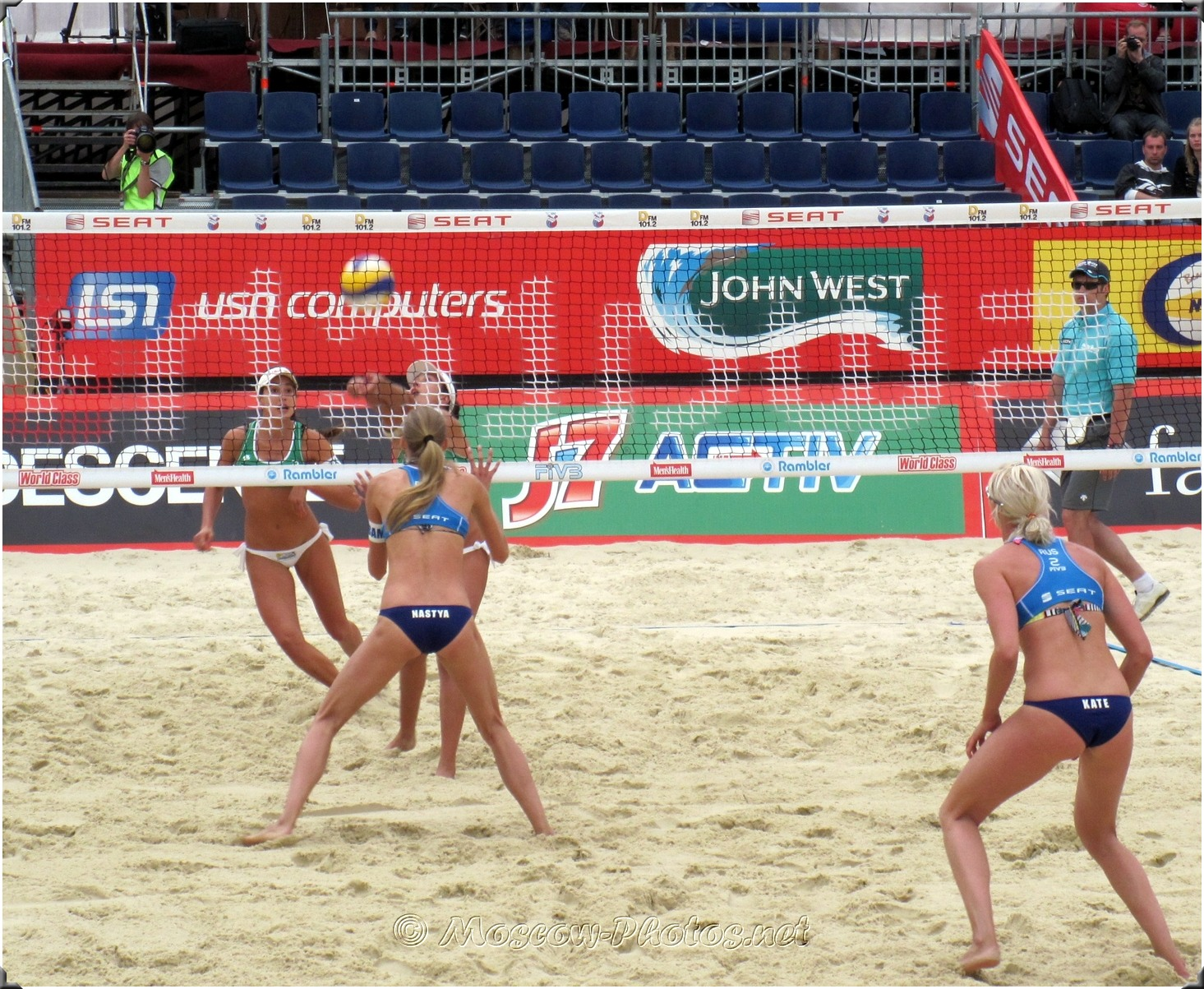 Ball In Play - Moscow Beach Volleyball 2010