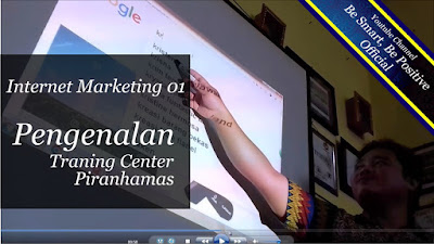 Belajar Wirausaha Internet Marketing, Pelatihan Internet Marketing Hari Pertama, TC Piranhamas