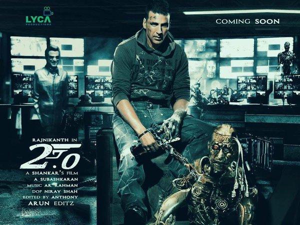 Enthiran 2.0, Robot 2.0 , 2.0 Movie, Enthiran 2.0 Akshay Kumar , Enthiran 2.0 Rajinikanth