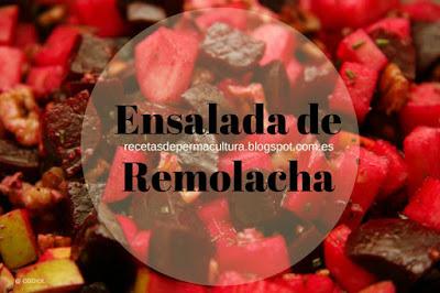 Receta de Ensalada especial de remolacha para Vegetarianos