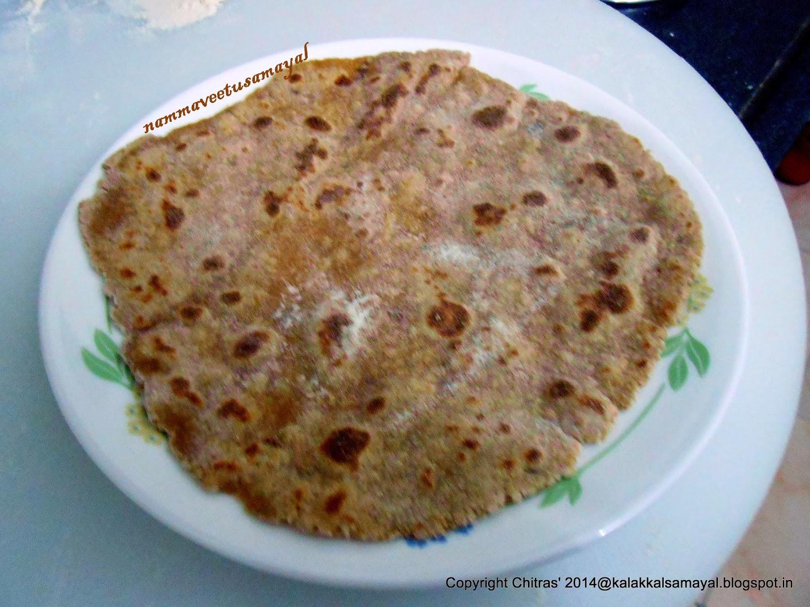 Amaranth Roti