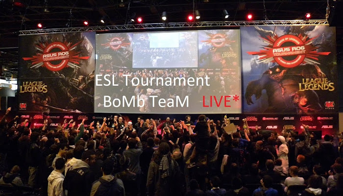ESL Tournament 5v5 - BoMb TeaM - Live Stream - League of Legends | LoL