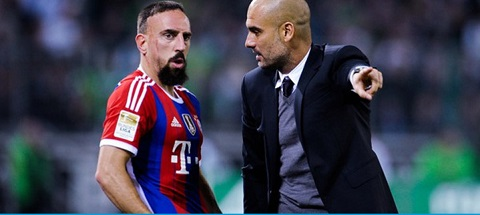 Lãnh đạo đội bóng Bayern dạy bảo Ribery