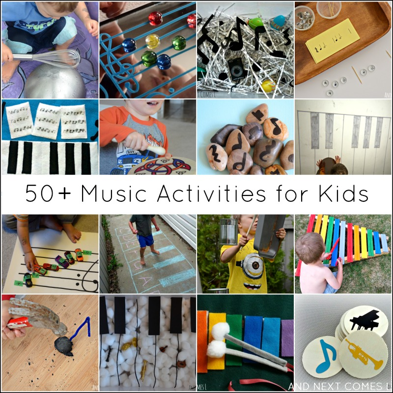 50+ music activities for kids
