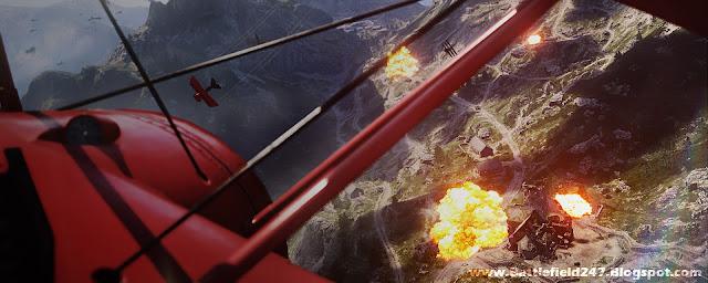 Battlefield 1 Biplanes Dogfight