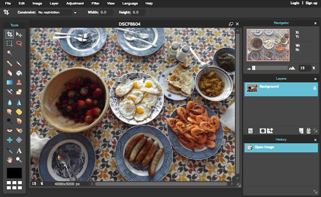 Pixlr online photo editor