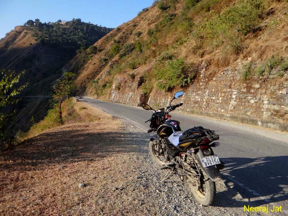 चकराता से दिल्ली मोटरसाइकिल यात्रा