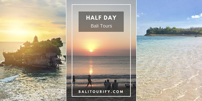 Best Bali half day tour package, half-day private Bali driver hire and Bali short day tours activities exploring Bali attractions with a flexible Bali itinerary