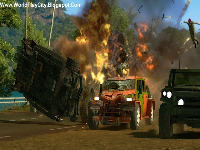 Just Cause PC Game Highly Compressed free Download