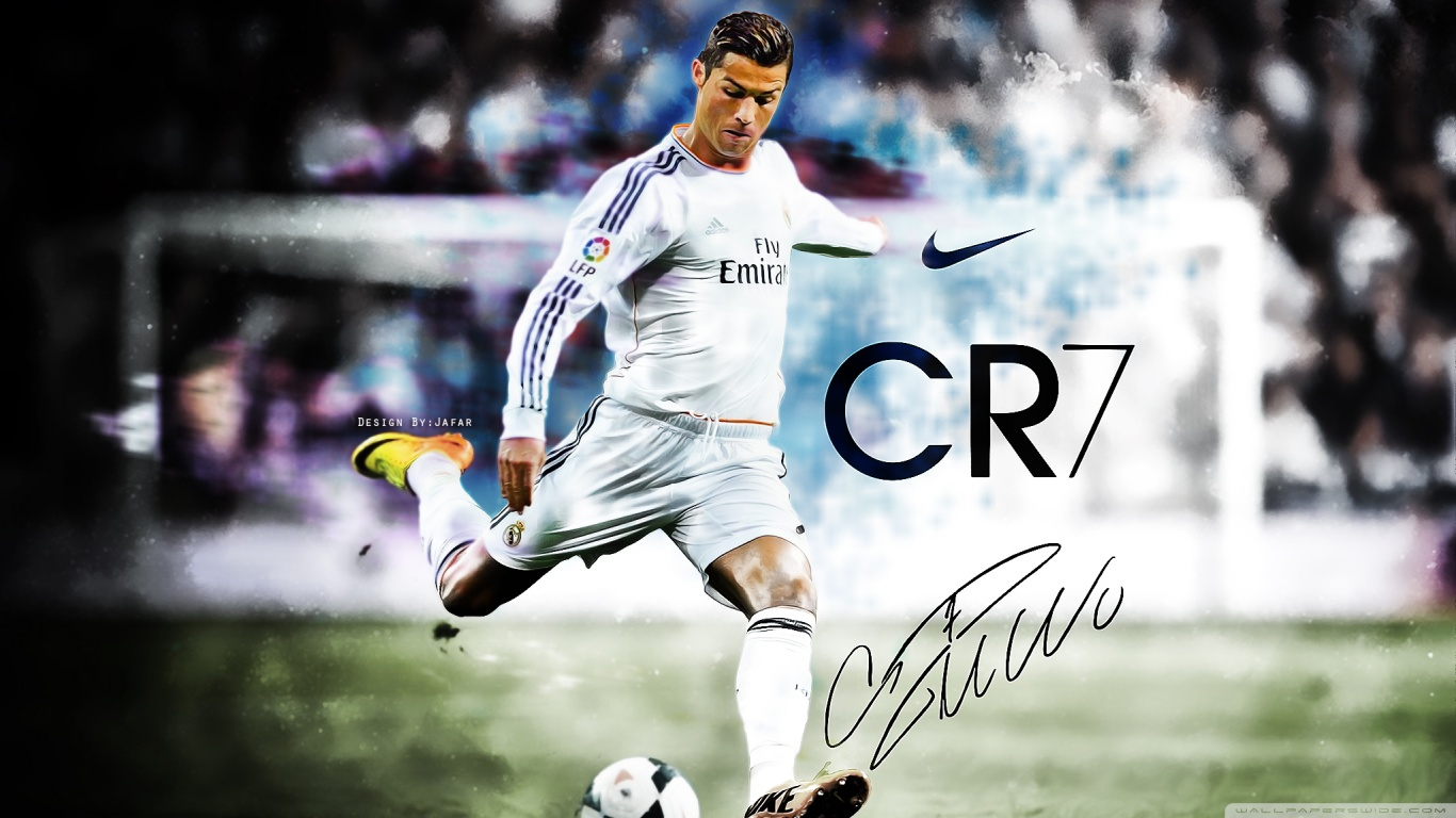 Cristiano Ronaldo CR7 HD Wallpaper Free Download