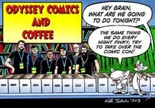 Odyssey Comics and Coffee