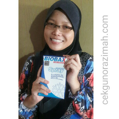 biobax cool therapy, review biobax, kurangkan sakit contraction
