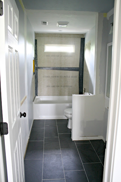 Adding a window to shower