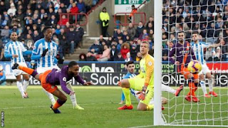 Raheem Sterling to dive and head in his 12th goal of the season