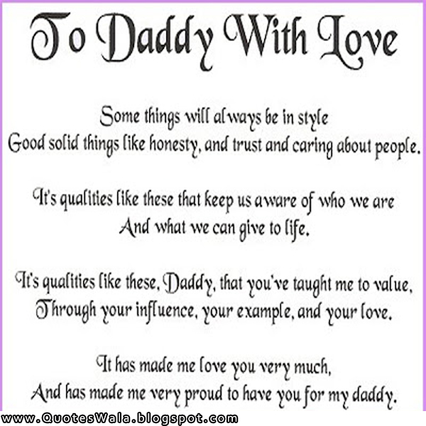 father value quotes