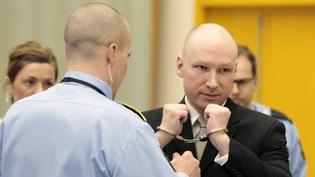Norway Slightly Eases Mass Killer Anders Behring Breivik's Jail Isolation