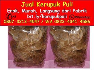 0857-3213-4547 Kerupuk Puli Kupang Cap Tiga dara Putri