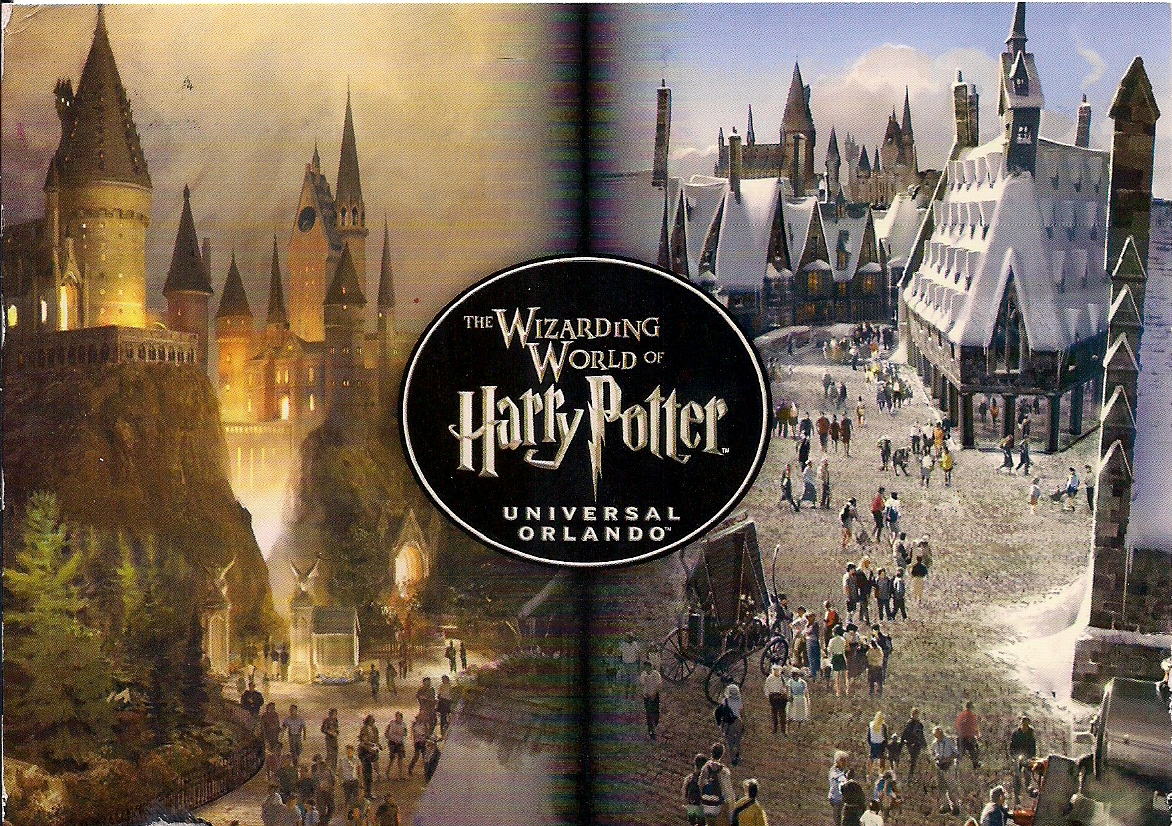 cef156b21da ... Universal Studios Orlando. I received 3 postcards from The Wizarding  World of Harry Potter through a direct swap on Facebook.