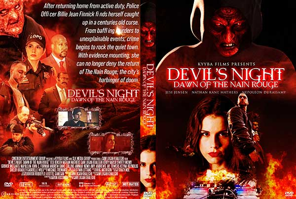 Devil's Night: Dawn of the Nain Rouge (2020) DVD Cover
