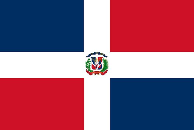Bendera negara Republik Dominika