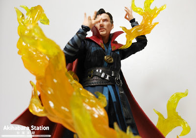 Review del S.H.Figuarts Dr. Strange + Burning Flame - Tamashii Nations