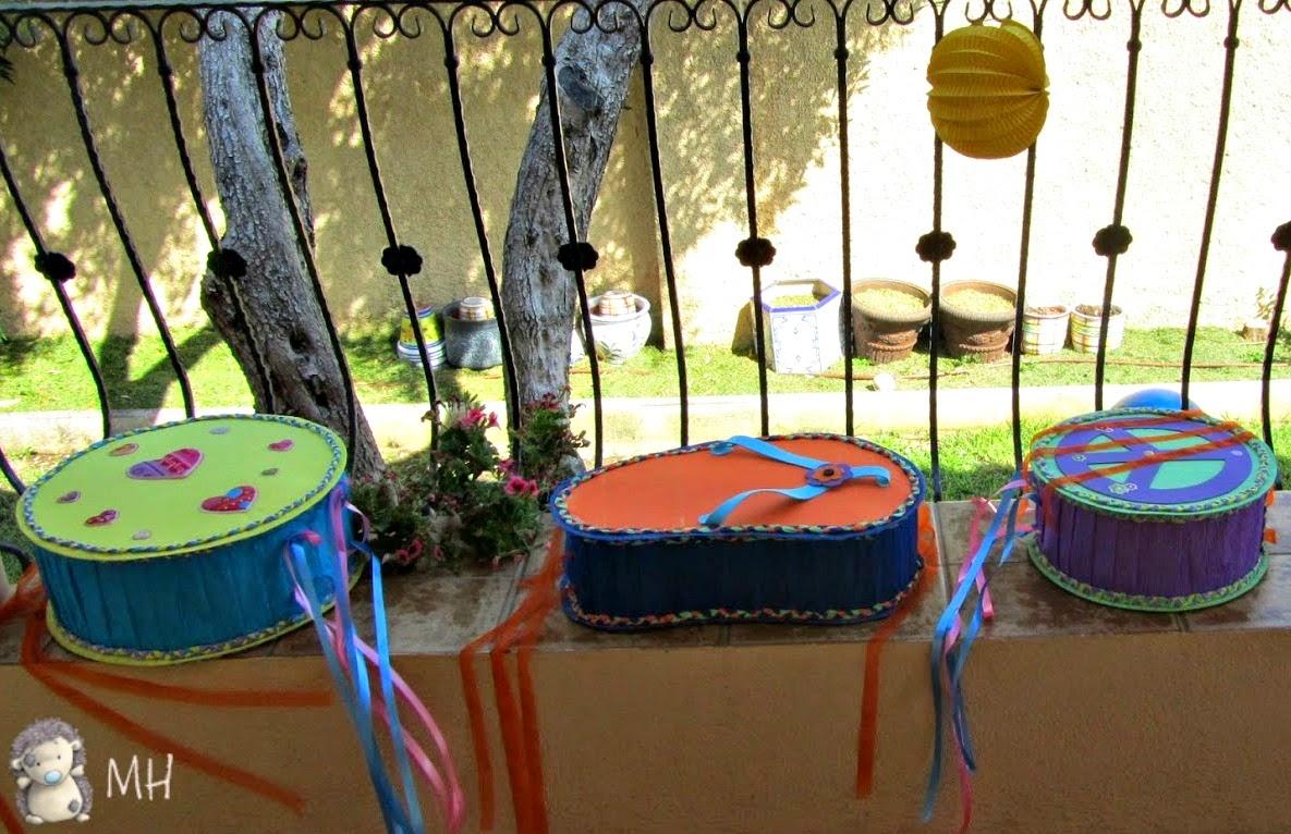 Piñatas hippies