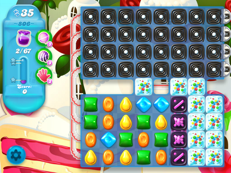 Candy Crush Soda Saga 806