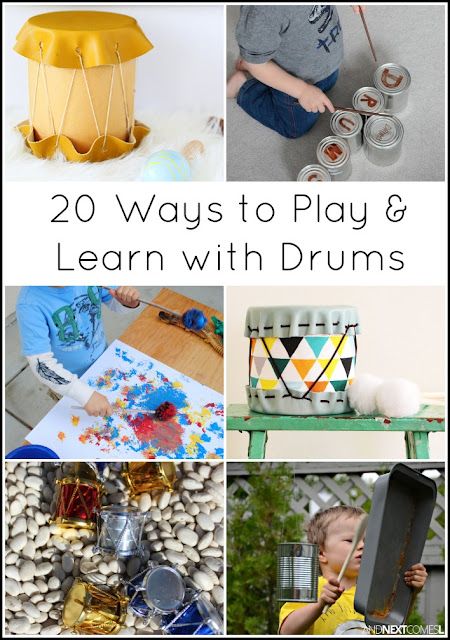 Music activities for kids: 20 ways to play & learn with drums