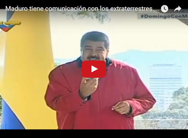 Maduro muestra aparato con el que se comunica con los extra-terrestres