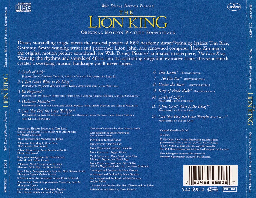 The Lion King (El rey león)