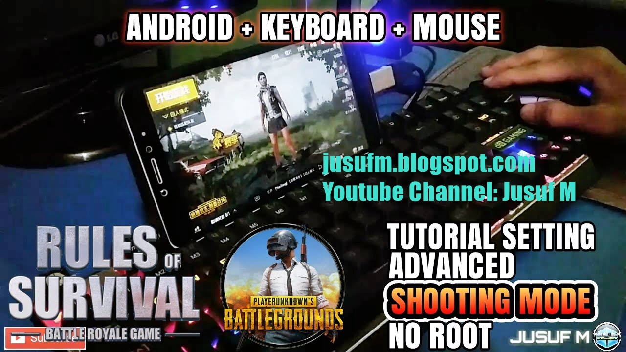 How To PUBG Mobile Auto Kill Mouse Settings | Rules Of Survival