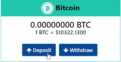 Deposit Bitcoin ke Akun Bitconnect X