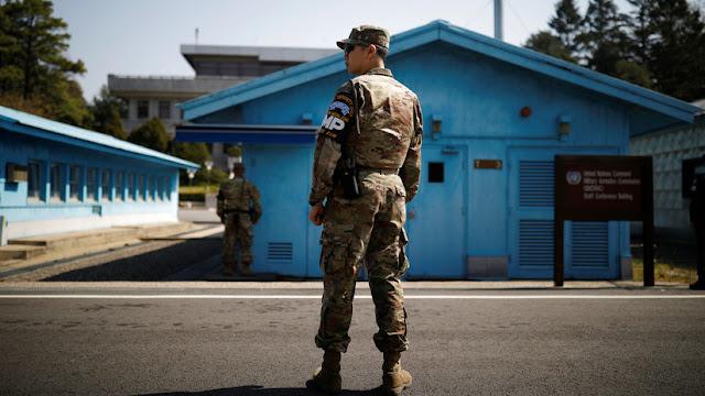 Funcionarios de EE.UU. cruzan a Corea del Norte para conversar sobre la cumbre Trump-Kim