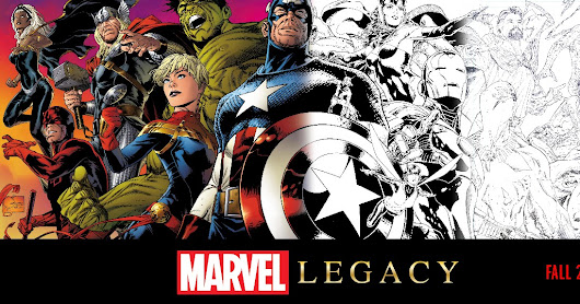"Marvel announced ""Marvel Legacy"" at C2E2 2017"