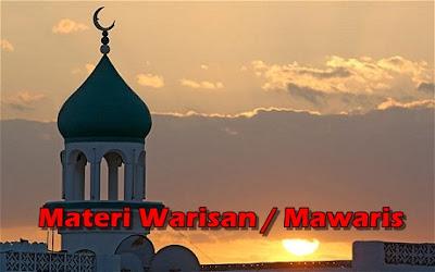 Penjelasan WARISAN dalam Islam Lengkap