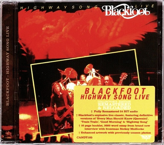 BLACKFOOT - Highway Song Live (Rock Candy remastered) full