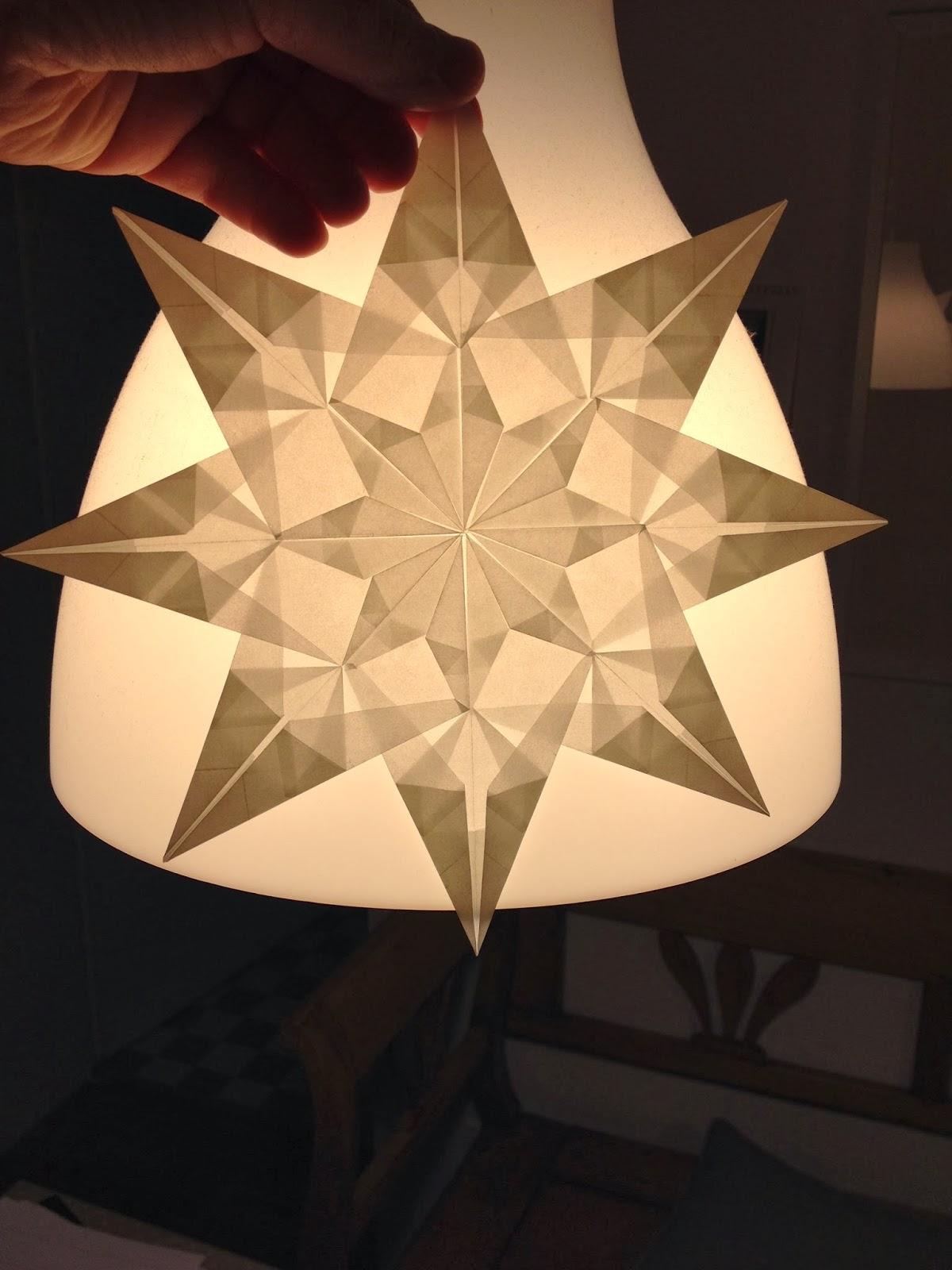 schnitte papier sterne falten schneiden