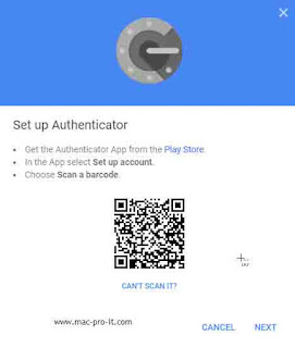 Authenticator app 2FA verification