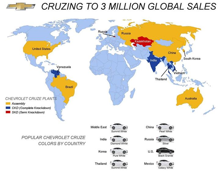 Cruzing to 3 million global sales!