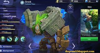 cara bermain grock mobile legends